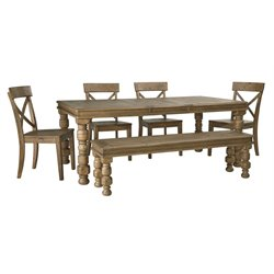 Ashley Trishley Dining Set in Light Brown