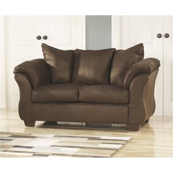 Ashley Furniture Darcy Loveseat in Cafe