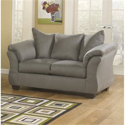 Ashley Furniture Darcy Loveseat in Cobblestone
