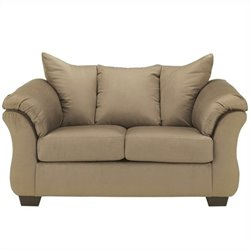 Ashley Furniture Darcy Loveseat in Mocha