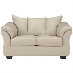 Signature Design by Ashley Furniture Darcy Loveseat in Stone