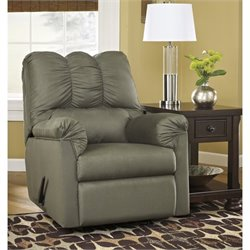Ashley Furniture Darcy Rocker Recliner in Sage