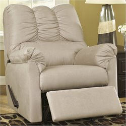 Ashley Furniture Darcy Rocker Recliner in Stone