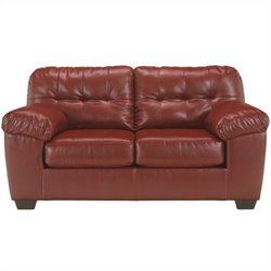 Ashley Furniture Alliston Loveseat in Salsa