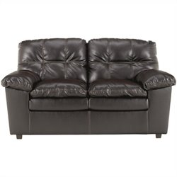 Ashley Furniture Jordon Loveseat in Java