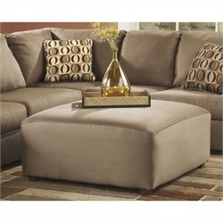 Signature Design by Ashley Furniture Cowan Oversized Ottoman in Mocha