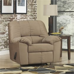 Signature Design by Ashley Furniture Dominator Rocker Recliner in Mocha