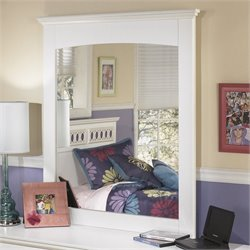 Signature Design by Ashley Furniture Zayley Bedroom Mirror in White
