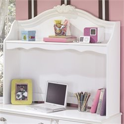 Signature Design by Ashley Furniture Exquisite Bedroom Desk Hutch in White