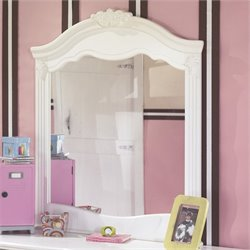 Signature Design by Ashley Furniture Exquisite Bedroom Mirror in White