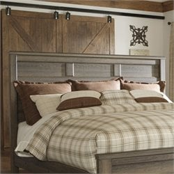 Signature Design by Ashley Furniture Juararo Panel Headboard in Brown - Twin