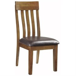 Ashley Furniture Ralene Dining Chair in Medium Brown