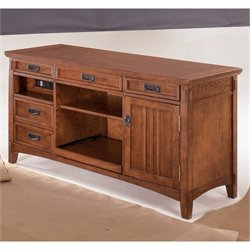 Signature Design by Ashley Furniture Cross Island Large Credenza in Medium Brown