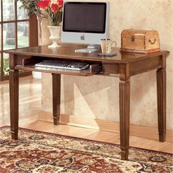 Signature Design by Ashley Furniture Hamlyn Small Office Leg Desk in Brown