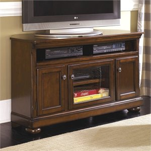 Ashley Porter TV Stand in Brown