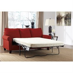 Signature Design by Ashley Furniture Zeth Full Sofa Sleeper in Crimson