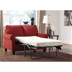Signature Design by Ashley Furniture Zeth Twin Sofa Sleeper in Crimson