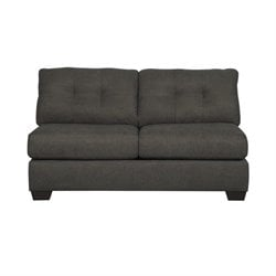 Signature Design by Ashley Furniture Delta City Sleeper Sofa in Steel