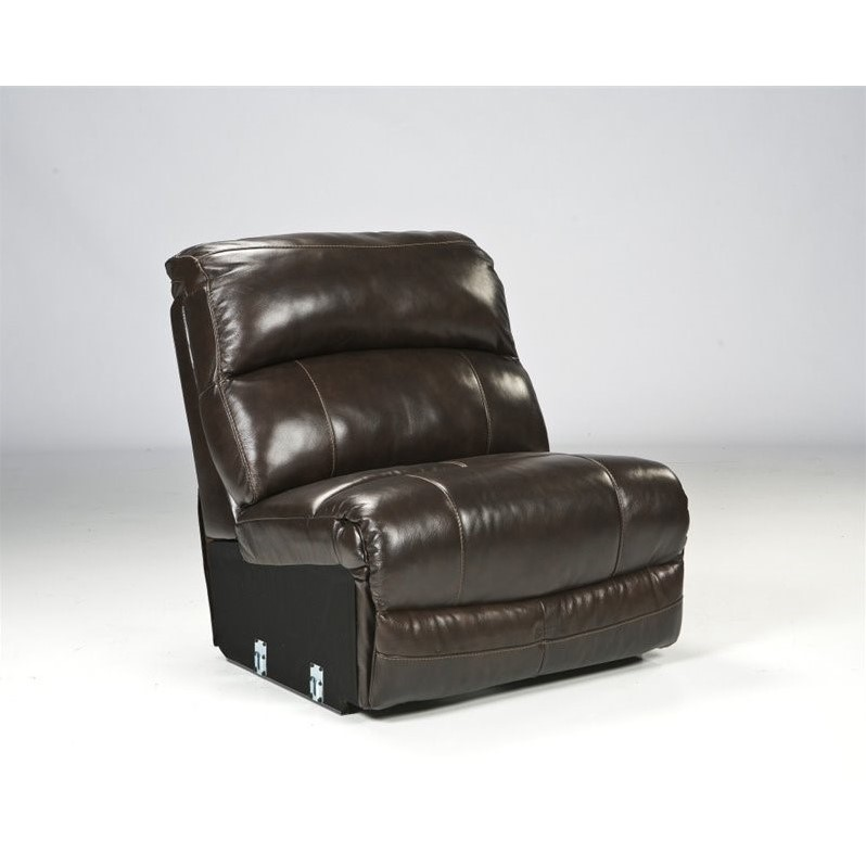 ashley furniture damacio 5 piece leather reclining