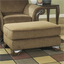 Signature Design by Ashley Furniture Montgomery Ottoman in Mocha
