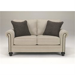 Signature Design by Ashley Furniture Milari Loveseat in Linen