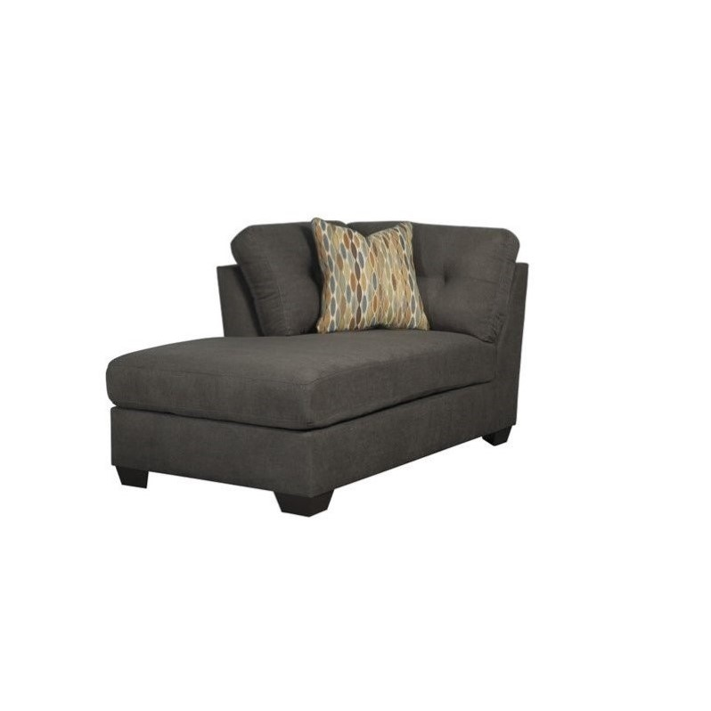 Ashley furniture delta city left arm chaise lounge in for Ashley chaise lounge sofa