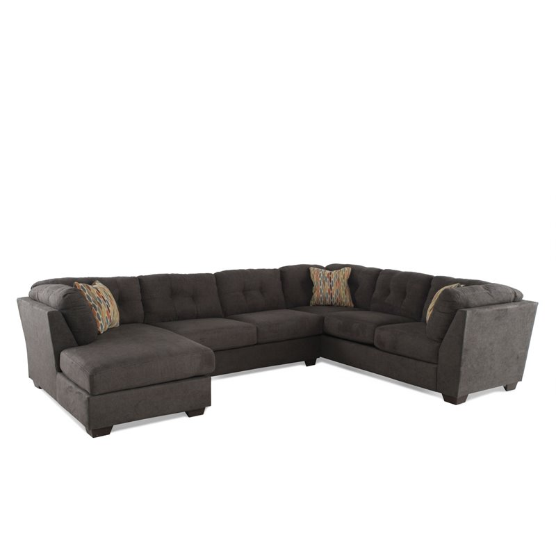 Ashley Furniture Delta City 3 Piece Right Facing Sectional