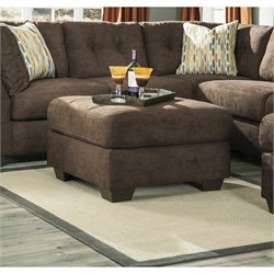 Delta City Oversized Accent Ottoman