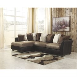 Ashley Masoli Corner Sectional in Mocha