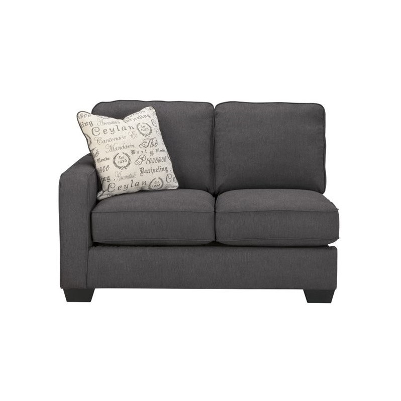 Ashley furniture alenya 2 piece sectional in charcoal for Alenya 2 piece sofa sectional in charcoal