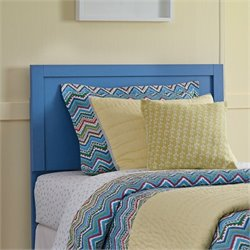 Ashley Bronilly Wood Twin Panel Headboard in Blue