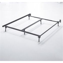 Ashley Queen King California King Metal Bed Frame in Black