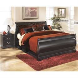 Ashley Huey Vineyards 2 Piece Sleigh Bedroom Set