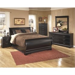 Ashley Huey Vineyards 6 Piece Sleigh Bedroom Set