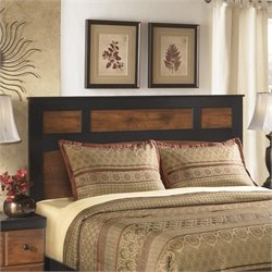 Ashley Aimwell Wood Full Queen Panel Headboard in Brown