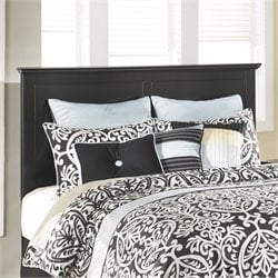 Ashley Maribel Panel Headboard in Black - Twin