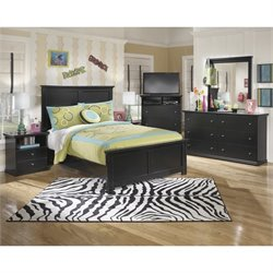 Ashley Maribel 6 Piece Wood Media Panel Bedroom Set