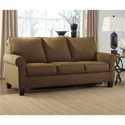 Ashley Zeth Fabric Full Size Sleeper Sofa in Basil