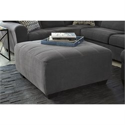 Ashley Sorenton Oversized Accent Ottoman in Slate