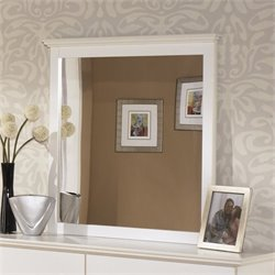 Ashley Bostwick Shoals Bedroom Mirror in White