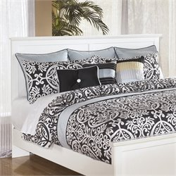 Ashley Bostwick Shoals King California King Panel Headboard in White