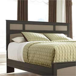 Ashley Wellatown Wood King Panel Headboard in Brown