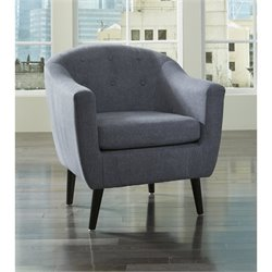 Ashley Klorey Fabric Accent Chair in Denim