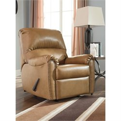 Lottie Leather Rocker Recliner