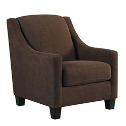 Ashley Maier Fabric Accent Chair in Walnut