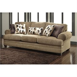 Ashley Kelemen Fabric Sofa in Amber