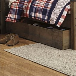 Ashley Trinell Wood Trundle Storage Drawer in Brown