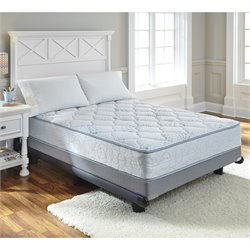 Kids Bedding Innerspring Mattress in Blue and White