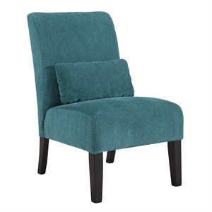 Annora Chenille Armless Accent Chair