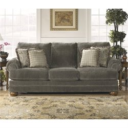 Ashley Parcal Estates Fabric Sofa in Basil